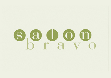 Salon Bravo Aveda Salon Branding, Collateral and Signage Design by Damon Merten from Daedalus Creative, DCDM is a premiere design agency in LA, CA