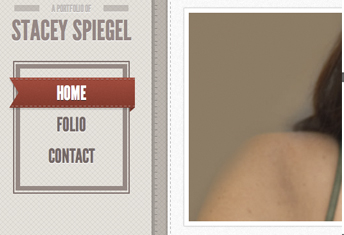 Stacey Spiegel Personal Portfolio Website Design by Daedalus Creative Design and Marketing Located in Los Angeles