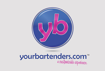 Yourbartenders.com Logo Design, Web Design and Marketing by Daedalus Creative a brand and marketing agency in LA, CA