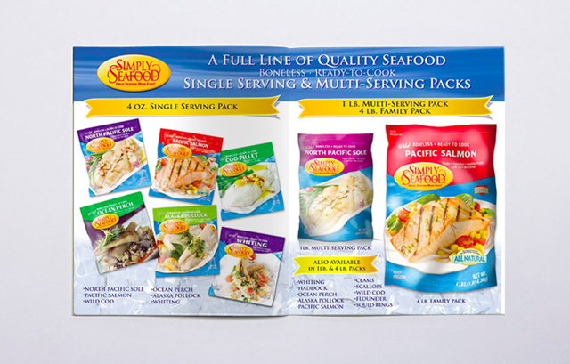 Seafood Packaging and Design